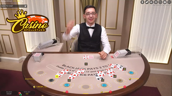 live blackjack casinoland
