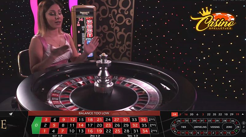 live roulette casinospelletjes