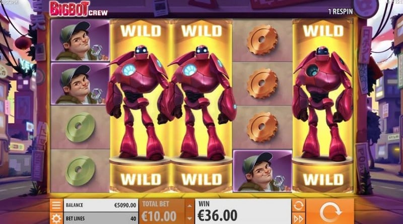Big Bot Crew casinospel