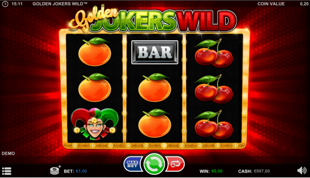 golden jokers wild betsson