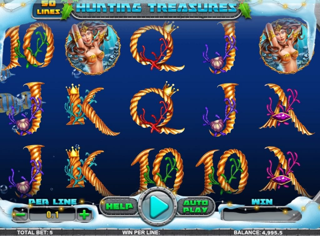 Hunting Treasures slot ReelTastic Casino