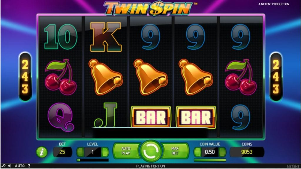 Twin Spin slot Turbo