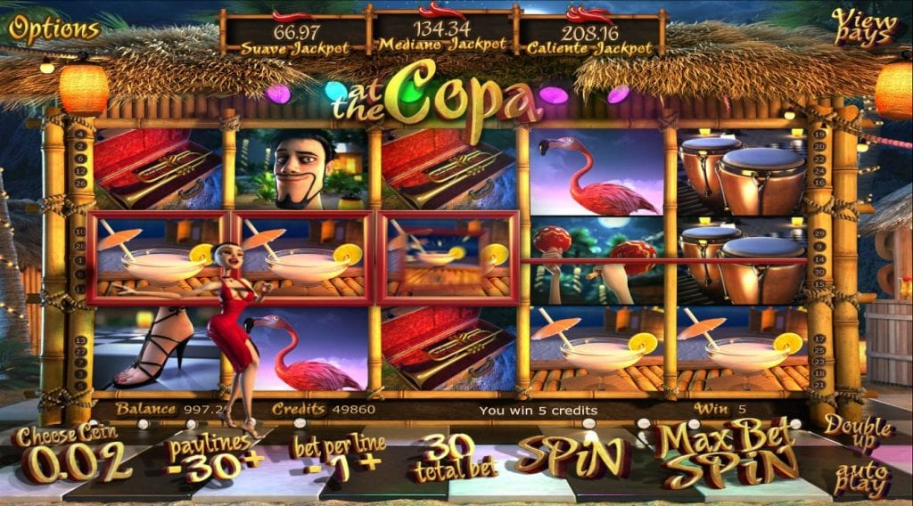 slot At the Copa Omnislots