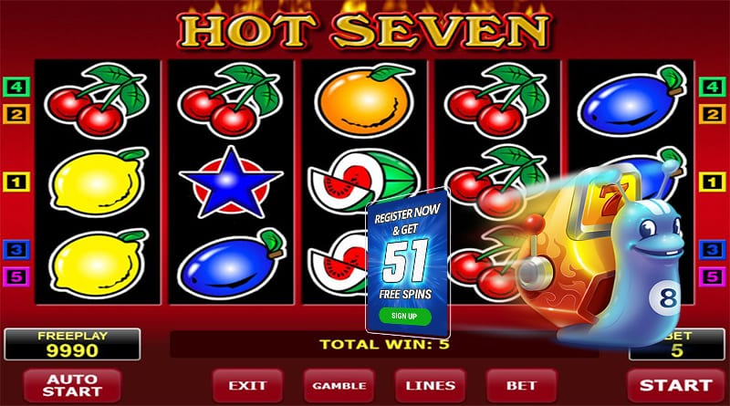 Hot Seven Turbo Casino