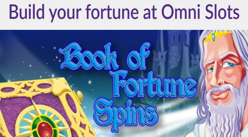 Omnislots Book of Fortune Spins
