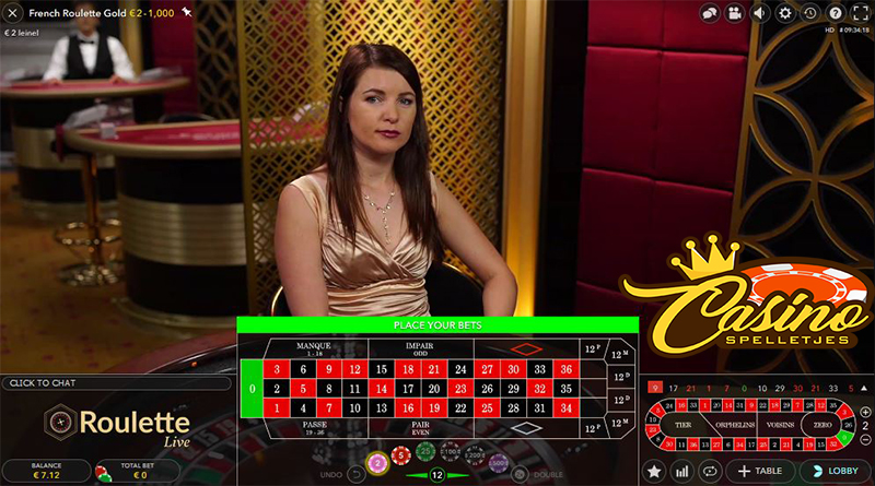 Live Frans Roulette Lucky Days Casino