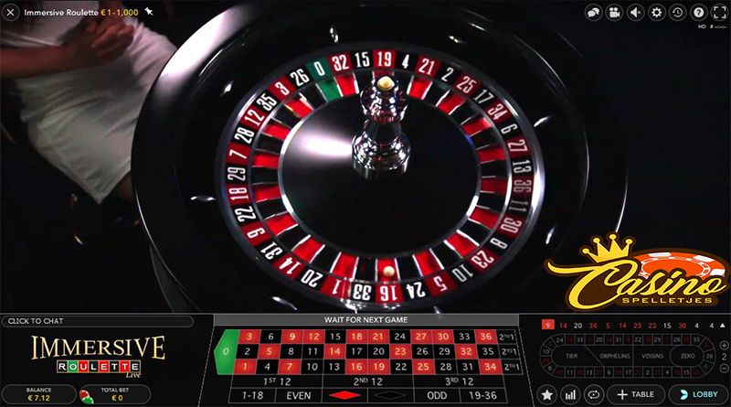 Live Immersive Roulette Lucky Days Casino