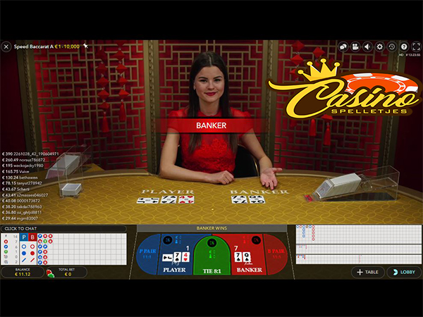 Live Speed Baccarat Lucky Days Casino