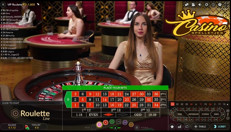 Live VIP Roulette Lucky Days Casino