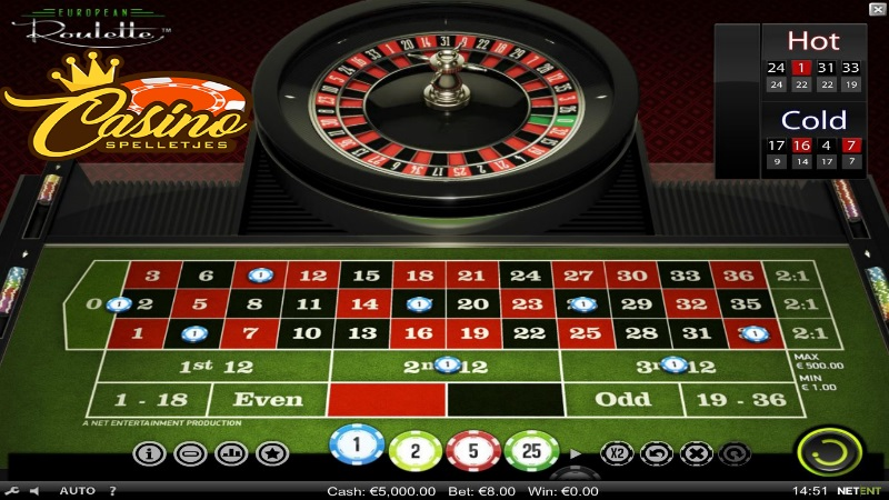Europees Roulette Lucky Days Casino