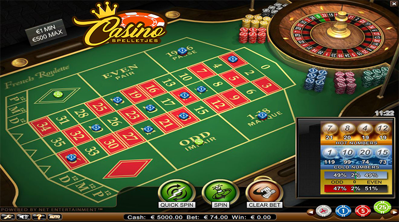 Online Frans Roulette Lucky Days Casino