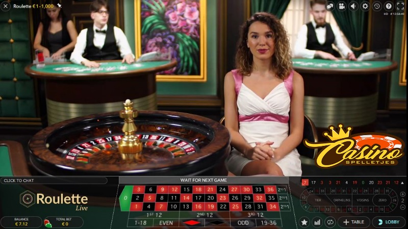 Live Europees Roulette Lucky Days Casino