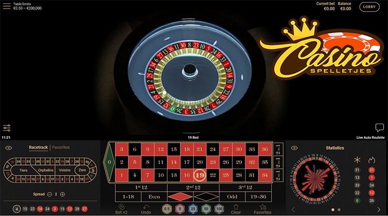 Live Automatic Roulette Low Turbo Casino