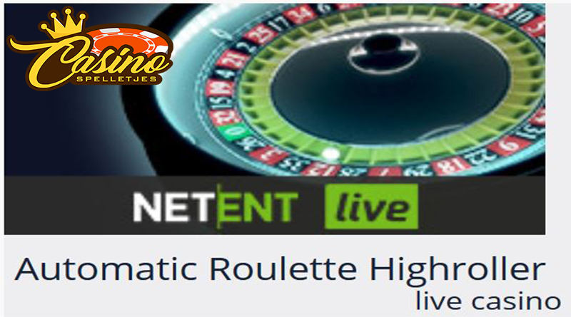 Live Automatic Roulette Highroller Turbo Casino