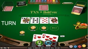 Texas Hold'em turn Turbo Casino